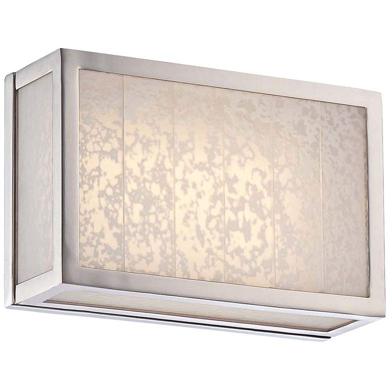 """Lake Frost 6""""H Polished Nickel LED Wall Sconce"""
