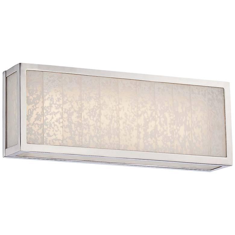 "Lake Frost 16""W Polished Nickel LED Bath Light"