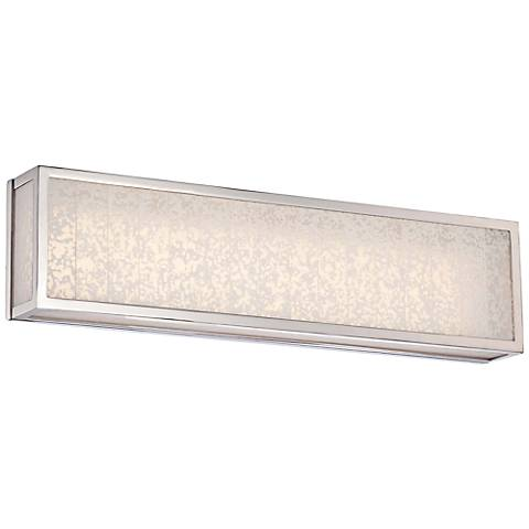 "Lake Frost 24""W Polished Nickel LED Bath Light"