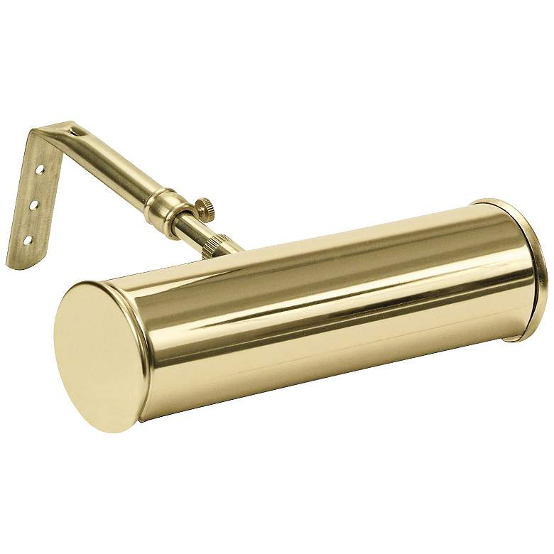 """Advent Polished Brass 7""""W Cordless-Battery LED Picture Light"""