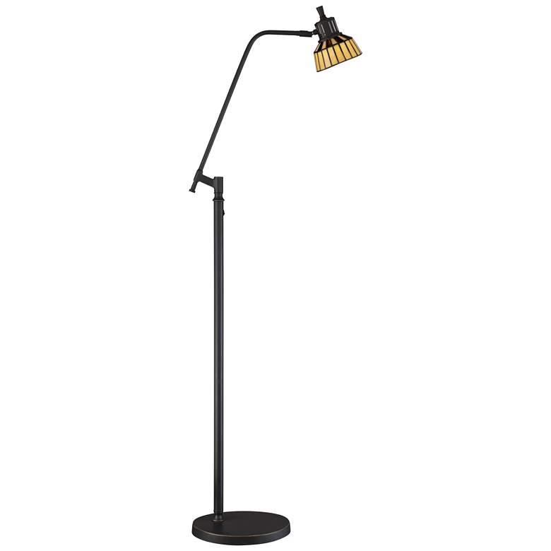 Rayna II LED Tiffany Style Art Glass Pharmacy Floor Lamp