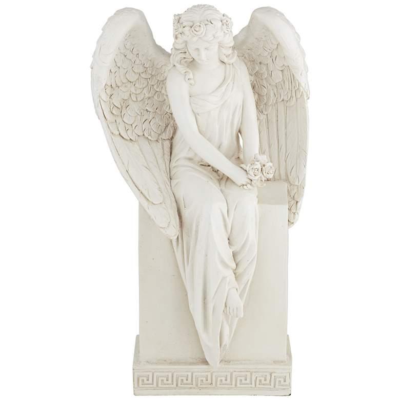 "Angel in Repose 12 3/4"" High Statue"