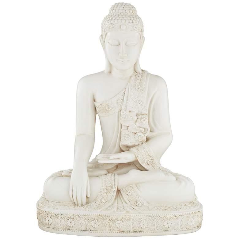 "Meditating Buddha 24 1/4"" High Statue"