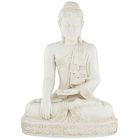 "Meditating Buddha 24 1/4"" High Statue"