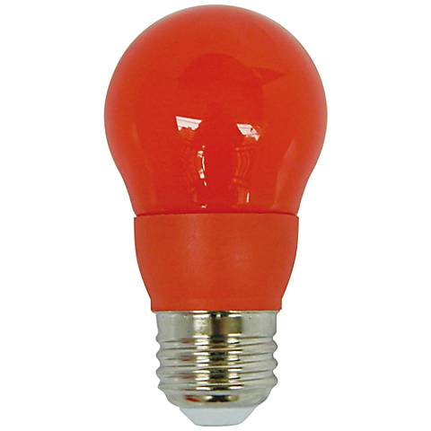 40W Equivalent Orange 5 Watt LED Non-Dimmable Standard Bulb