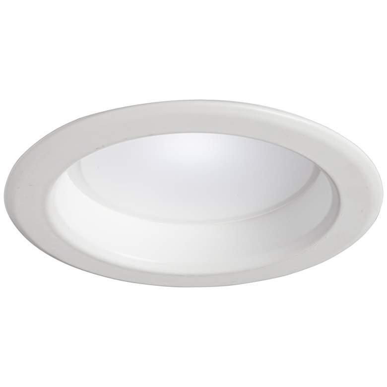 "4"" White Plain 10W LED 900 Lumen Dimmable"