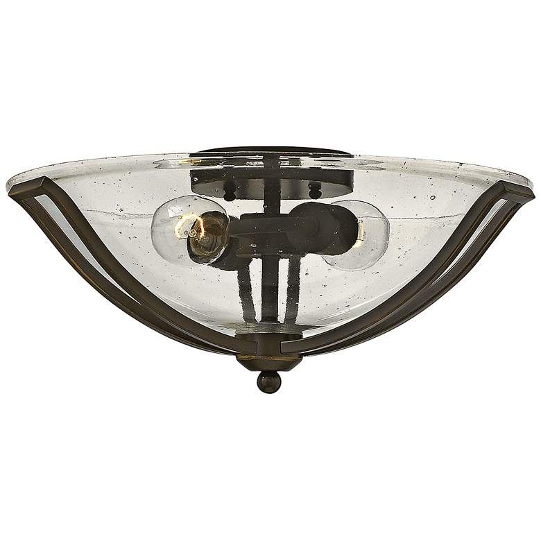 "Bolla 16 3/4"" Wide Glass Bowl Ceiling Light by Hinkley"