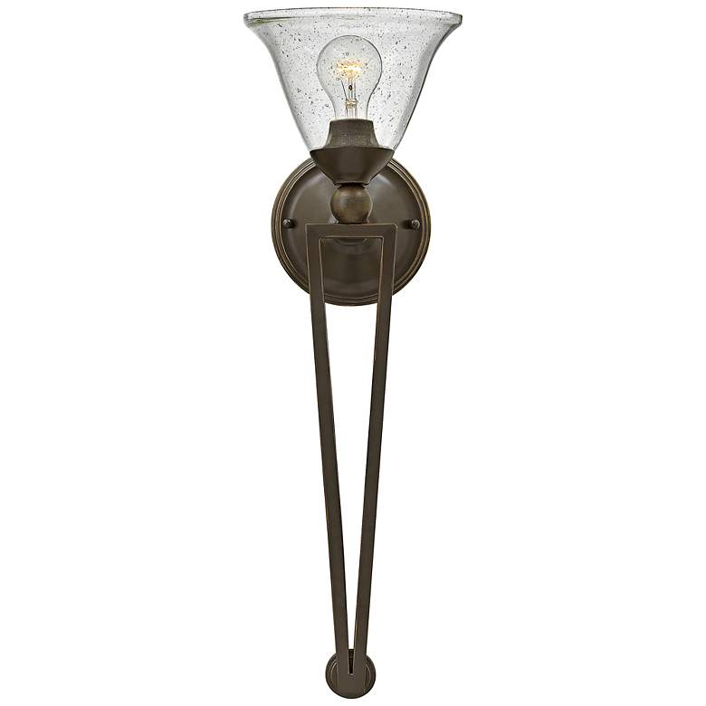 "Hinkley Bolla 26"" High Olde Bronze Wall Sconce"