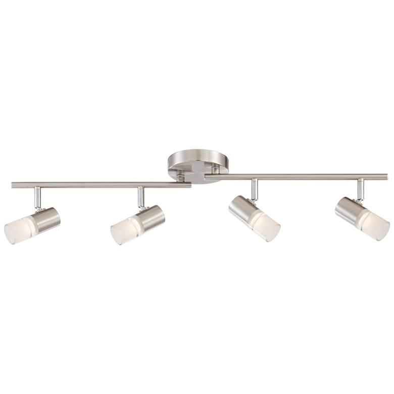 Pro Track Renee 4-Light Satin Nickel LED Track Fixture