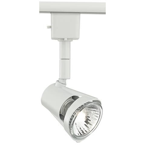 White GU10 50-Watt Halogen Track Light Head