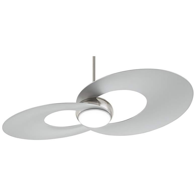 "52"" Possini Innovation™ Brushed Nickel LED Ceiling Fan"