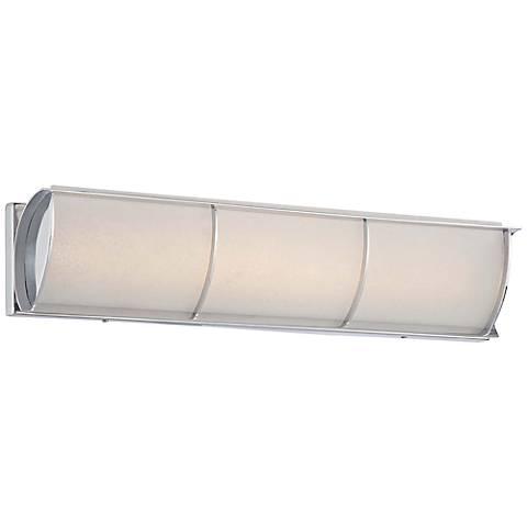 """Arlington Brooke 24 1/4"""" Wide Chrome LED Bath Light"""