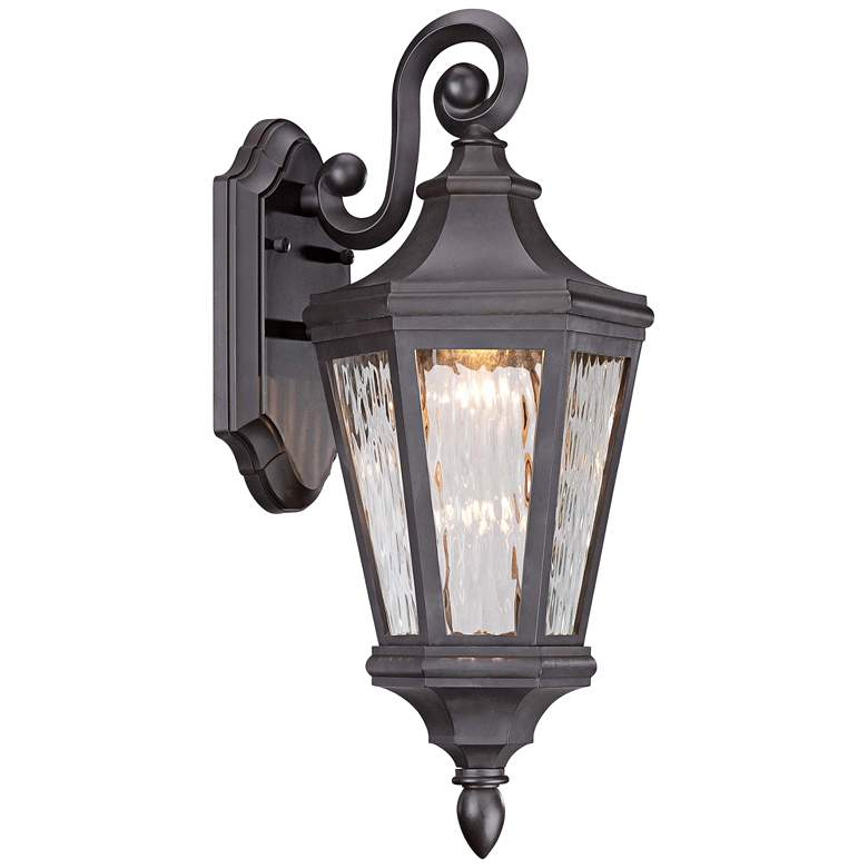 """Handforde Pointe LED 19""""H Oiled Bronze Outdoor Wall Light"""