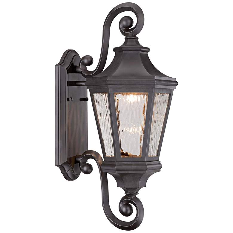 """Hanford Pointe LED 21 3/4""""H Bronze Outdoor Wall Light"""
