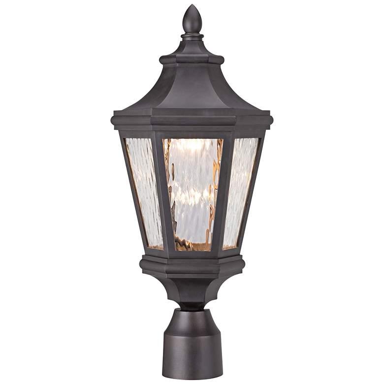"Handforde Pointe LED 20 1/4""H Bronze Outdoor Post Light"