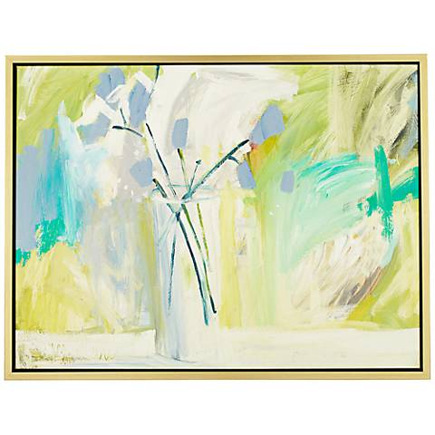 "Just Picked 43"" Wide Framed Giclee Wall Art"