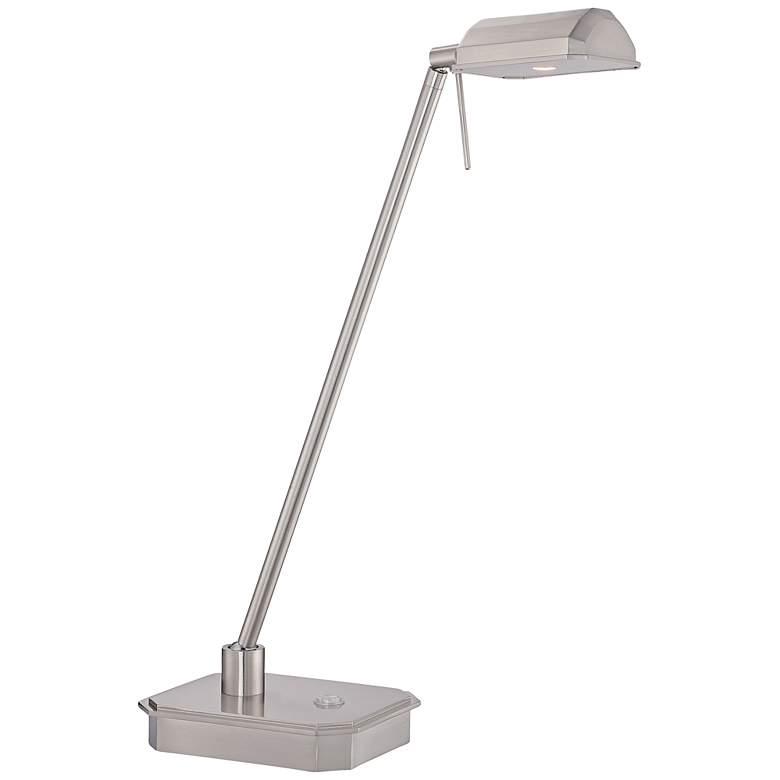 George Kovacs Ashton Brushed Nickel LED Desk Lamp