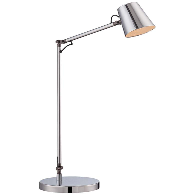 George Kovacs Maxwell Chrome LED Desk Lamp