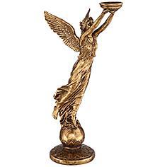 """Golden Angel 38 1/2"""" High Statue"""