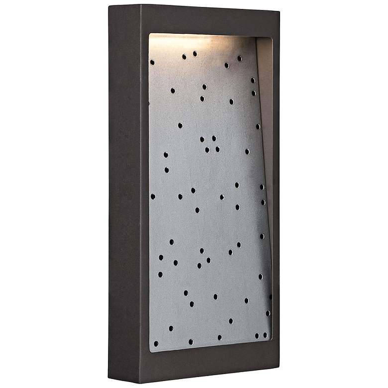 "George Kovacs Pinball 14""H LED Bronze Outdoor Wall"
