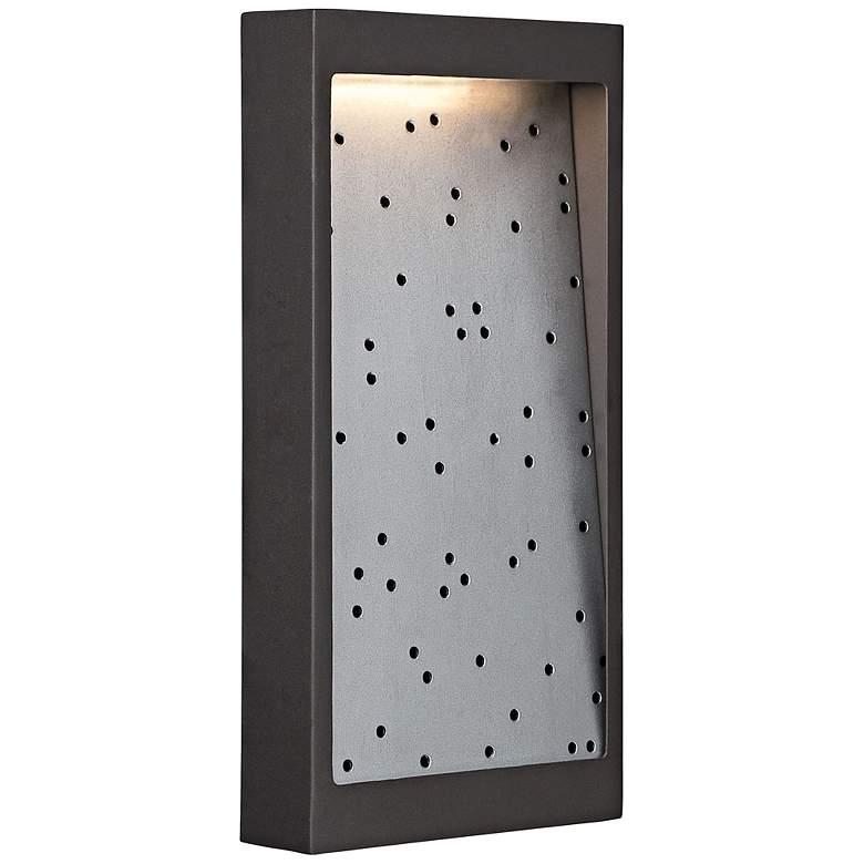 "George Kovacs Pinball 14""H LED Bronze Outdoor Wall Light"