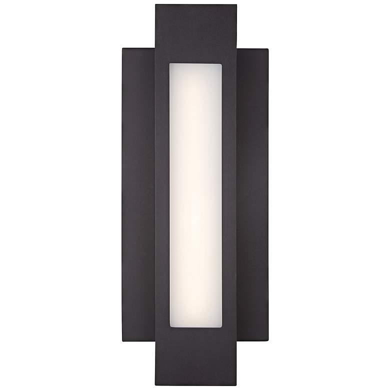 "George Kovacs Insert 16 1/2"" High LED Outdoor Wall Light"