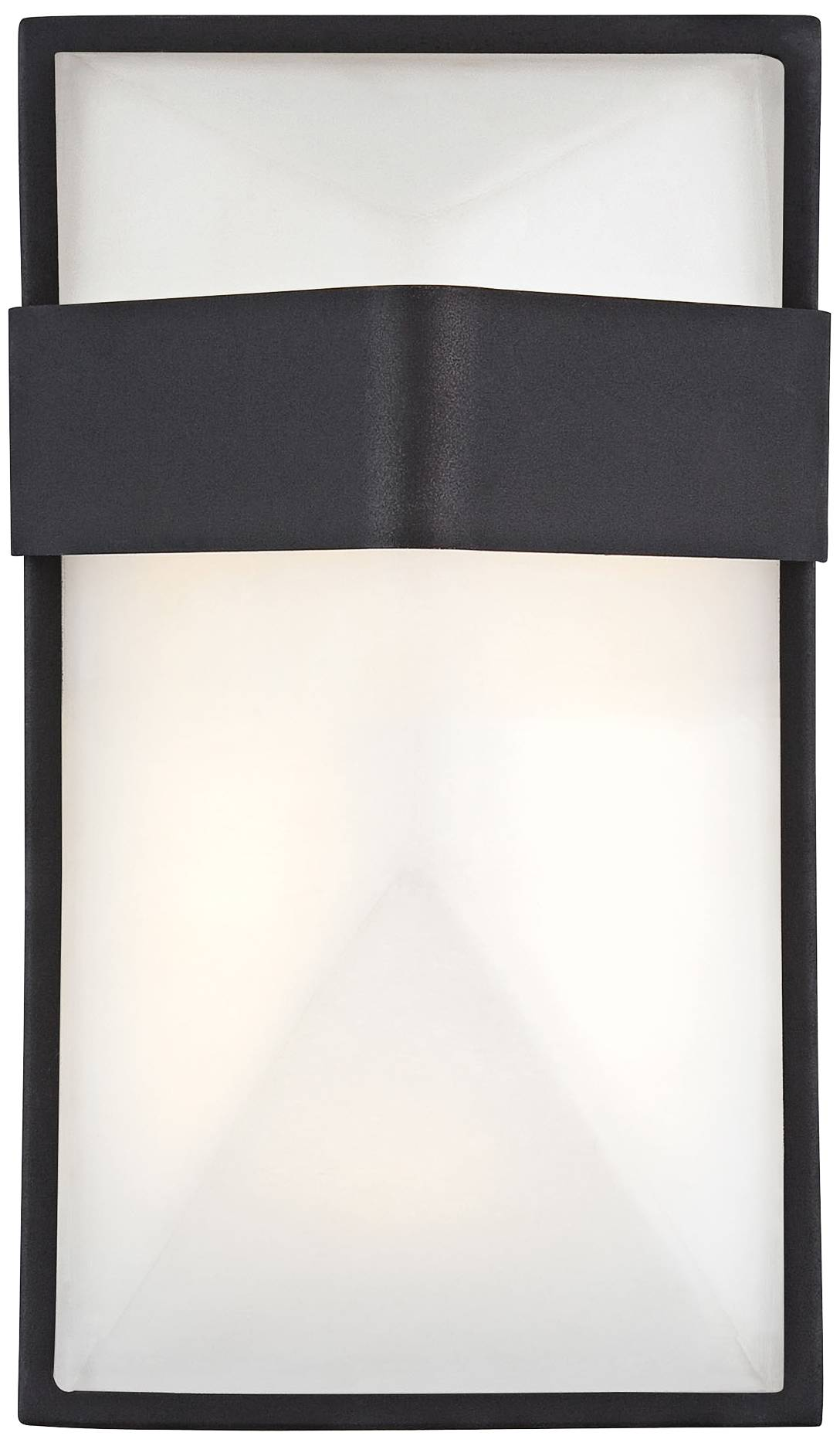 Possini Euro Design Black Outdoor Led Up And Down Wall