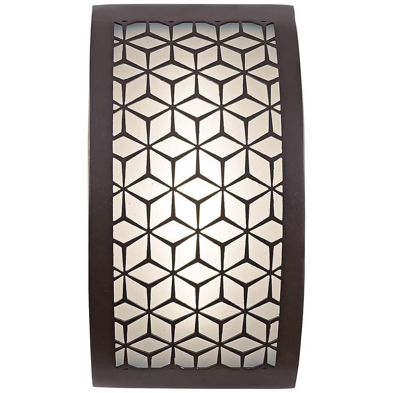 "George Kovacs Copula 9 1/2"" High LED Outdoor Wall Light"