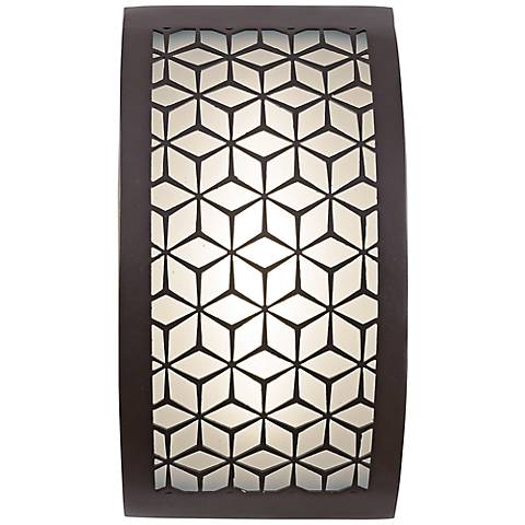 "George Kovacs Copula 9 1/2"" High LED Outdoor Wall Light"