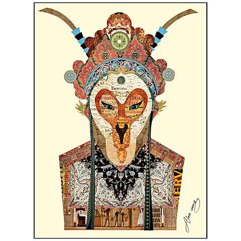 """Beijing Opera Mask #1 26"""" High Frame Wall Art"""