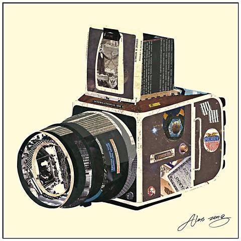 """SRL Camera 26"""" Wide Framed Wall Art"""