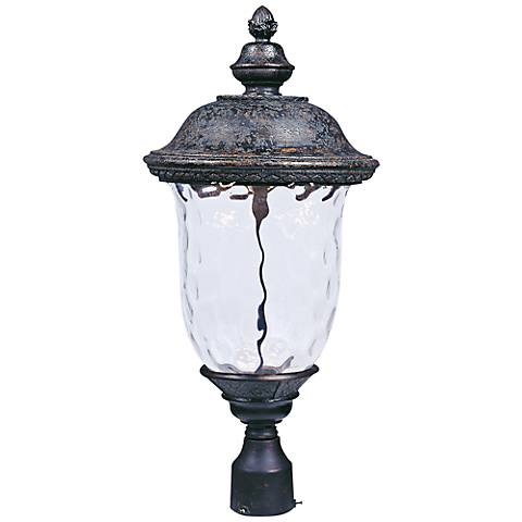 "Maxim Carriage House 12 1/2"" Wide LED Outdoor Post Light"