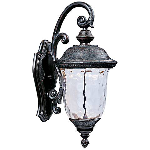 "Maxim Carriage House 20""H LED Bronze Outdoor Wall Light"