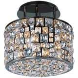 "Maxim Fifth Avenue 16"" Wide Luster Bronze Ceiling Light"