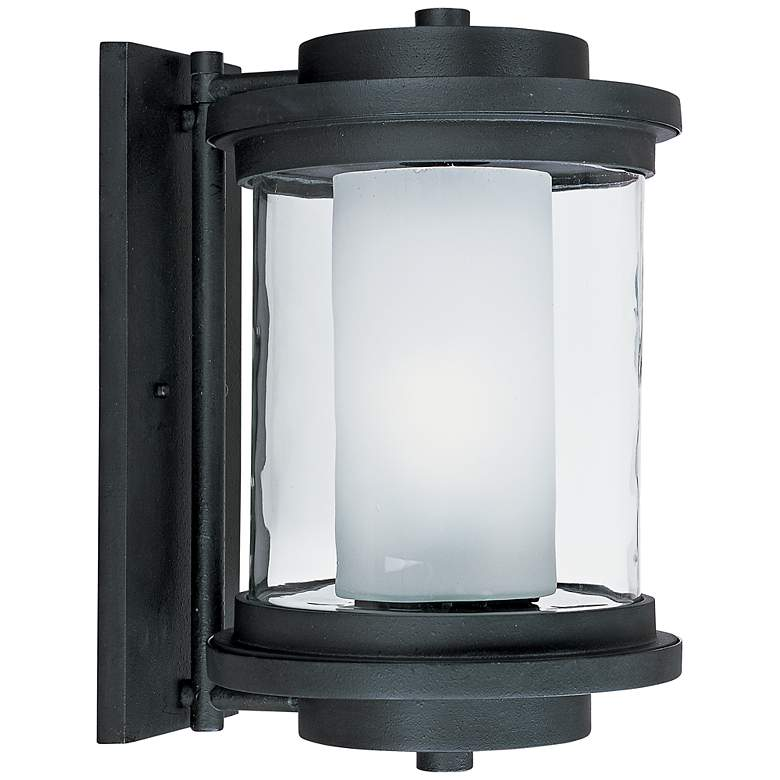 """Maxim Lighthouse 15 1/2""""H Anthracite Outdoor Wall Light"""