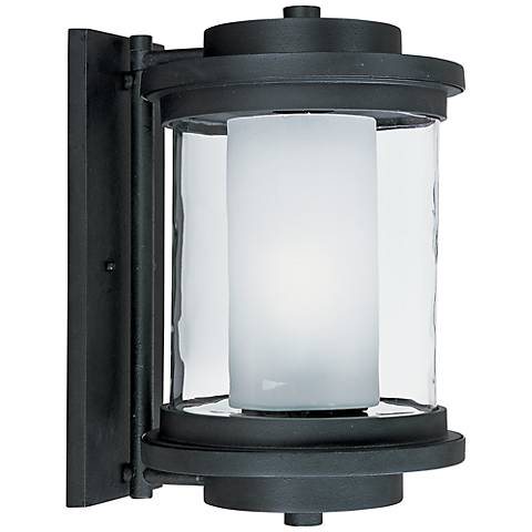 "Maxim Lighthouse 15 1/2""H Anthracite Outdoor Wall Light"