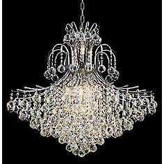 Toureg 31 Wide Chrome 15 Light Chandelier