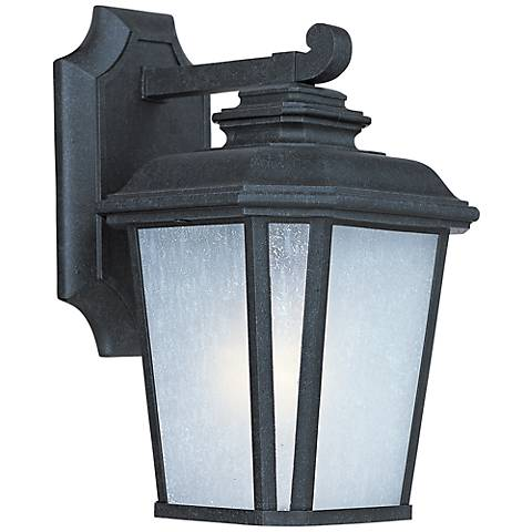 "Maxim Radcliffe 11 1/4""H Black Oxide Outdoor Wall Light"