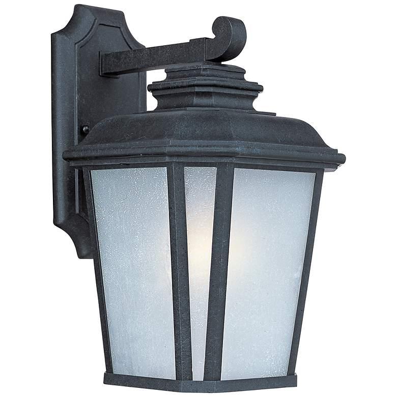 "Maxim Radcliffe 14 1/2""H Black Oxide Outdoor Wall Light"