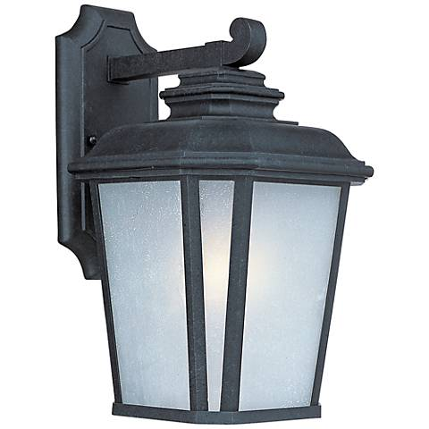 "Maxim Radcliffe 14 1/2""H Black Oxide Outdoor Wall Light"