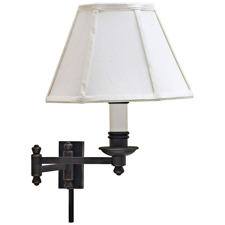 House of Troy Library Oil Rubbed Bronze Swing Arm Wall Lamp