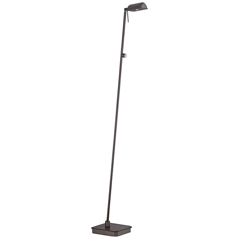 George Kovacs Kress Copper Bronze Patina LED Floor Lamp
