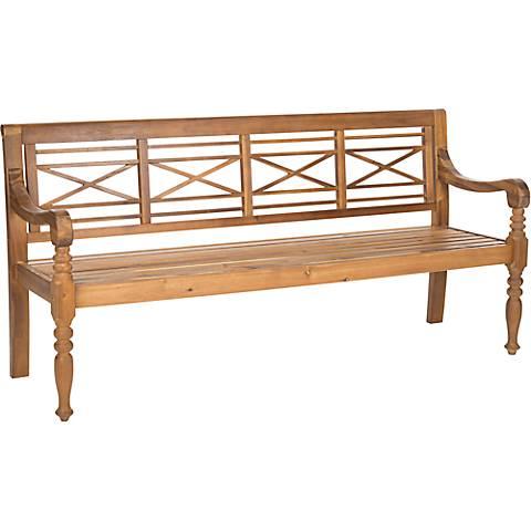 Karoo Teak Wood Garden Bench