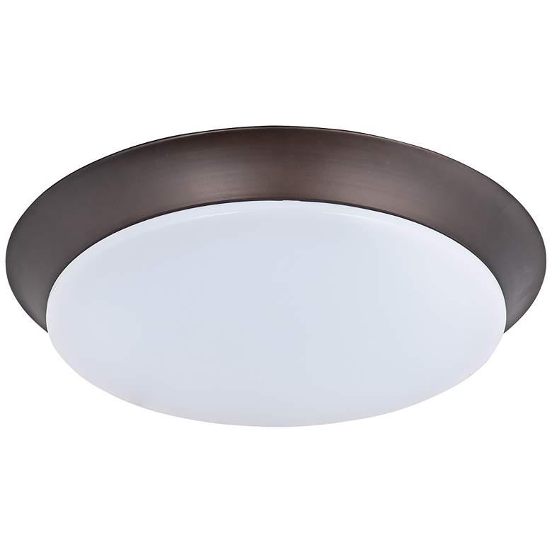 "Maxim Profile 11 3/4""W Bronze Round LED Ceiling Light"
