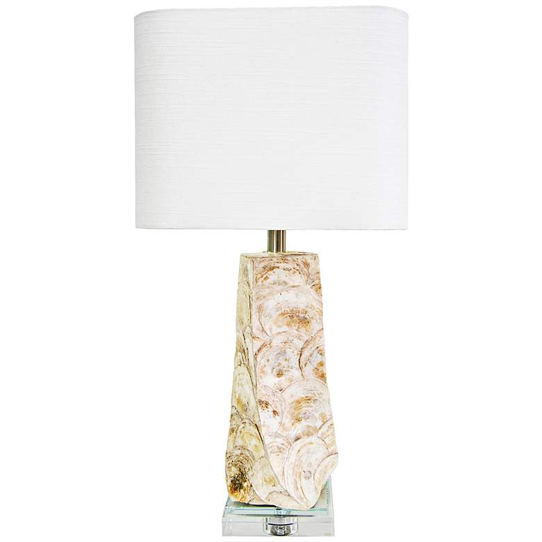 Couture Del Mar Capiz Shell Table Lamp