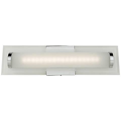 "Artcraft Turin 18"" Wide Chrome LED Bath Light"