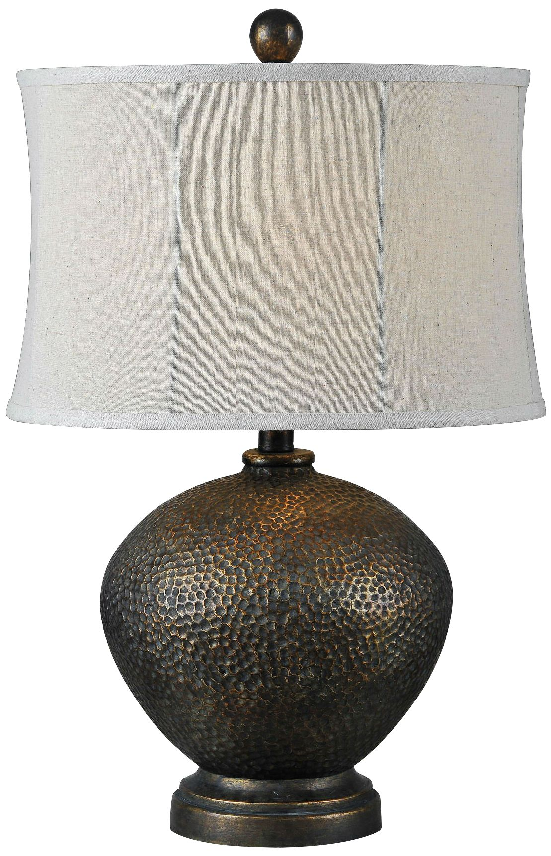 Merveilleux Miller Oil Rubbed Bronze Hammered Table Lamp