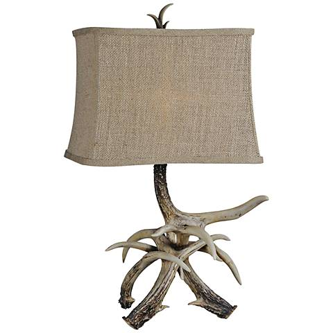 Sawyer Rustic Brown Branch Table Lamp