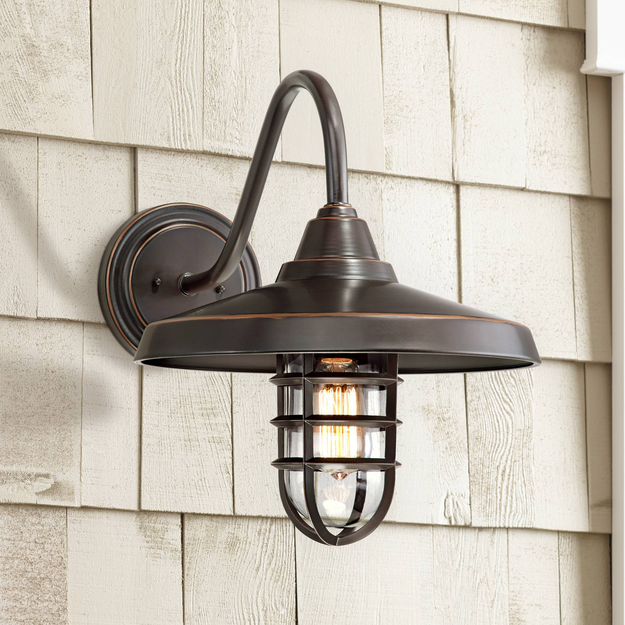 Details About Outdoor Barn Light Fixture Bronze 16 3 4 For Exterior House Porch
