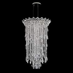 Schonbek lighting design your own chandelier lamps plus schonbek trilliane strands 24 wide crystal chandelier aloadofball Image collections